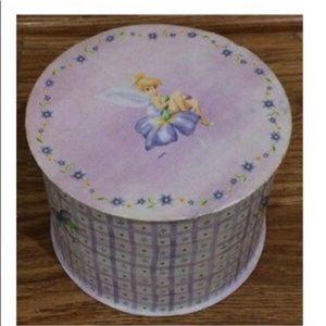 Walt Disney Tinkerbell Trinket Jewelry Box - EUC